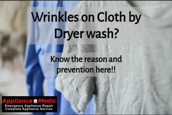 cloth wrinkles reason